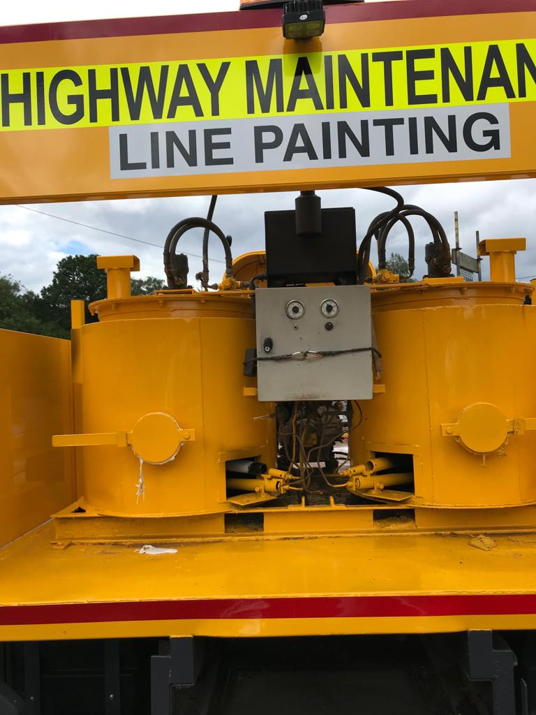 line painting machine