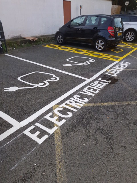electric parking marking by Approved Multi Services