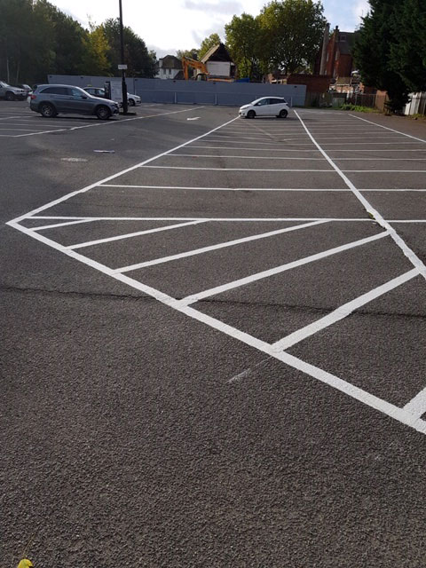 car park marking by Approved Multi Services